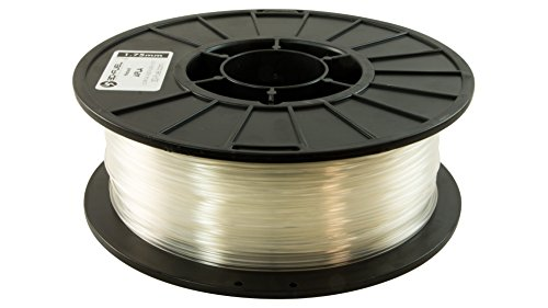 3D Fuel Pro PLA High Heat Professional 3D Filament Made in USA (Natural, 1.75mm 1Kg) by 3DFUEL FUELING YOUR CREATIVITY
