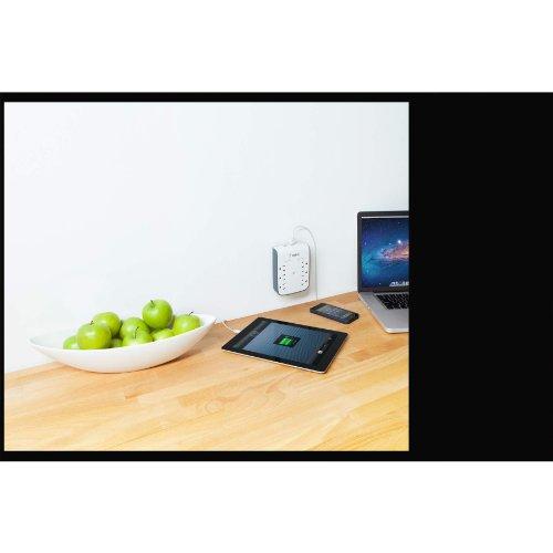Belkin SurgePlus 6-Outlet Mount Dual USB Ports ,