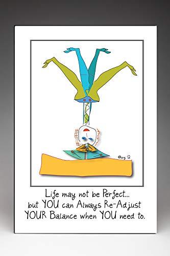 Amazon.com: Caroline Yoga Poster: Handmade