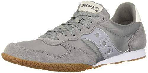 Saucony Originals Men's Bullet Sneaker Grey/Gum 11 M US