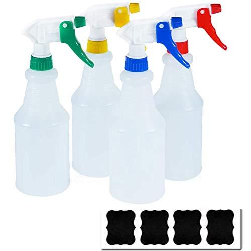 Hair Care ECHG 200 ml Spray Bottles 6 Pack Plastic Bottles Trigger Sprayer Empty Mist Spray Bottle Water Sprayers for Cleanin Gardening ironing