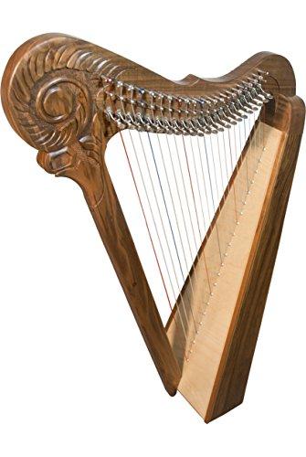 Roosebeck Parisian Harp 22-String - Walnut by Roosebeck