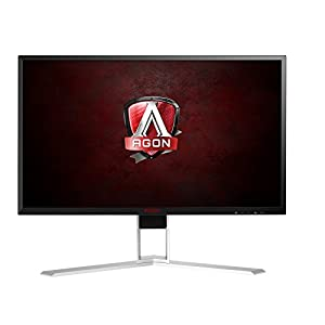 "AOC AGON AG241QX 23.8"" Gaming Monitor, FreeSync, QHD (2560x1440), TN Panel, 144Hz, 1ms, Height Adjustable, DisplayPort, HDMI, USB"