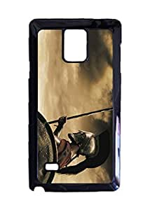 300 Movie Durable Hard Unique Case For Samsung Galaxy Note 4 - Black Case