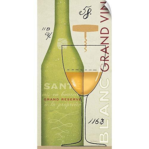 Vin Grand Cru - Canvas on Demand Sue Schlabach Wall Peel Wall Art Print Entitled Grand Vin Blanc 24