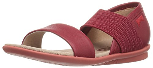 Image of Camper Kids Girls' Right K800041 Flat Sandal, red, 31 M EU Little (13 US)