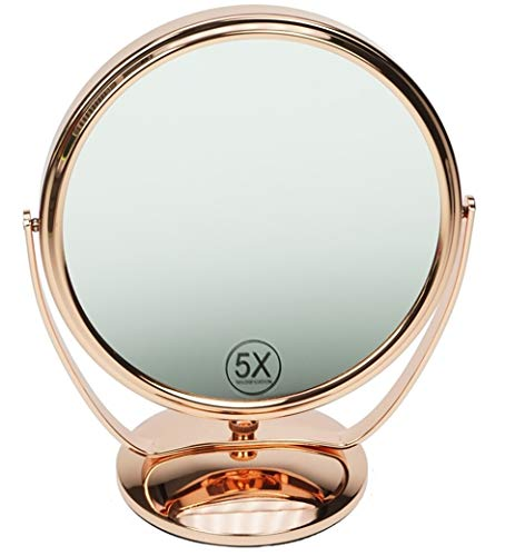 Fantasia Miroir grossissant en métal Bronze 5 x 91465