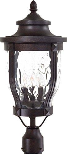 Minka Lavery Outdoor Post Lights 8765-166 Merrimack Cast Aluminum Exterior Lighting Fixture, 180 Watts, Bronze