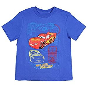 Cars Boys Nex-Gen Racer Lightening McQueen T-Shirt