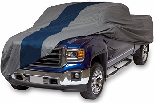 Duck Covers A2T232 Double Defender Pickup Truck Cover for Extended Cab Short Bed Trucks up to 19' 4