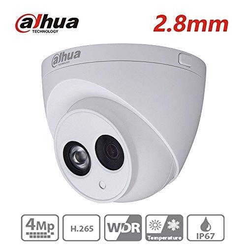 Dahua 4MP HD Security Camera, IPC-HDW4433C-A 2.8mm, Network Camera, Night Vision, Eyeball Dome IP Camera, 4 Megapixel IR 50M Better Night Vision H.265 HD IP67 ONVIF For Sale