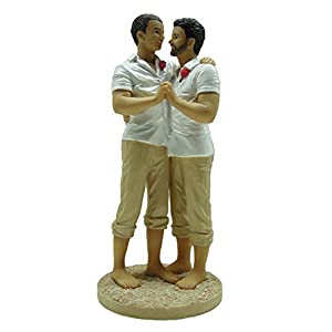 41AFOdpYYOL._SS300_ Beach Wedding Cake Toppers & Nautical Cake Toppers