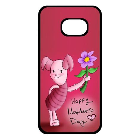 Charming Designer The Pooh Winnie Bear Characters Samsung Galaxy S7 EDGE Smooth Cover Cases ()
