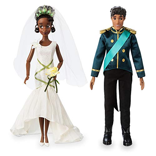 Disney Tiana and Naveen Classic Wedding Doll Set - The Princess and The Frog -