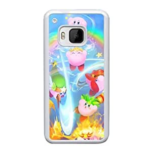 HTC One M9 Cell Phone Case White Kirby YT3RN2532764