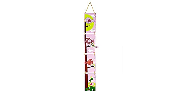 Amazon Bird Themed Height Growth Chart For Girls Bedroom Or