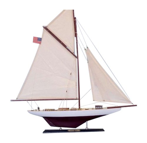 "Hampton Nautical  Columbia Sailboat, Limited Edition, 25"""