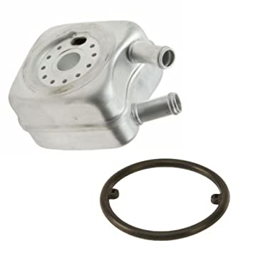 Amazon com: Engine Oil Cooler (EOC) with Gasket Seal Brand