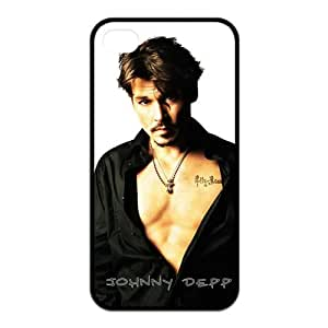 Unique Fashion Johnny Depp Rubber Cases for iPhone 5 5s & 5 5s