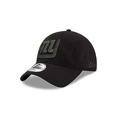 New York Giants Black on Black 9TWENTY Adjustable Hat / Cap from New Era