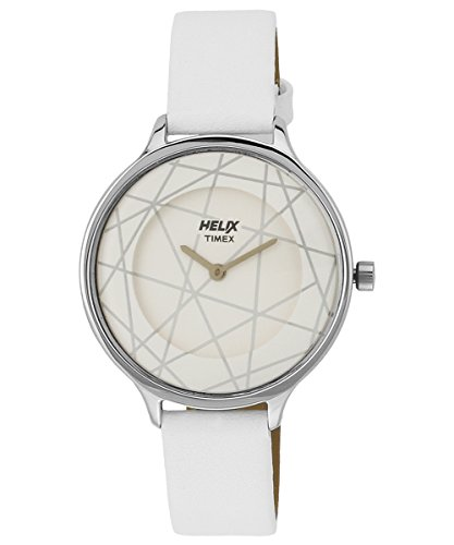 Helix Constellation Analog White Dial Women #39;s Watch   08HL01