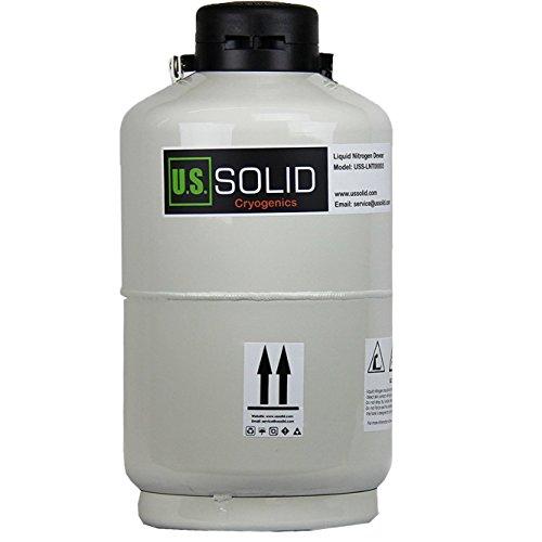 U S Solid 10l Cryogenic Container Liquid Nitrogen Ln2 Tank