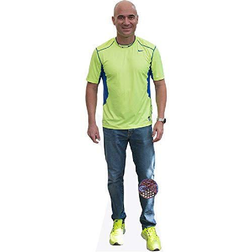 Andre Agassi (Jeans) Life Size Cutout