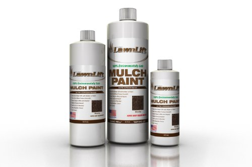 Lawnlift Ultra Concentrated (Mocha) Mulch Paint 8oz. = 2.5 Quarts of Product. by Lawnlift Grass and Mulch Paints (Image #2)