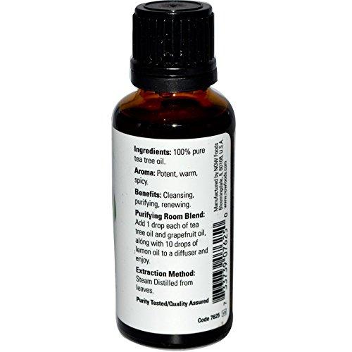 733739076250 - Now Foods Tea Tree Oil, 1 oz (Pack of 2) carousel main 0
