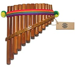 Beautiful InkaTumi Decorative 13 Pipes C...