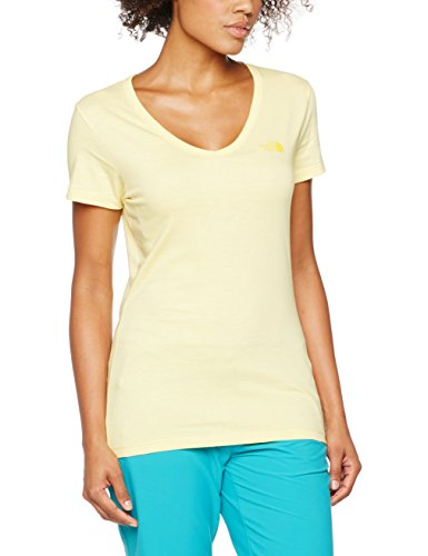 The North Face Simple Dome, Camiseta Para Mujer Amarillo (Sunshine)