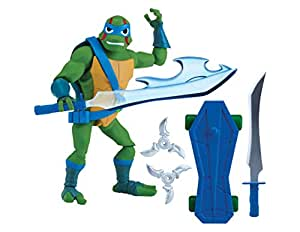 Figura de Teenage Mutant Ninja Turtles TUAB0300 Leo the Cool Guy the Rise of Basic Action , Modelos/colores Surtidos, 1 Unidad