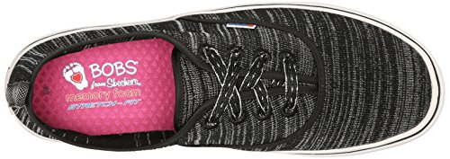 Skechers Sneaker BOBS Menace Fashion Lite Women's Black Party Silver from O0OrqxTZSw