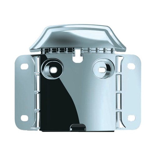 Kuryakyn 3146 License Mount Back Plate (Kuryakyn Plate Curved License Frame)