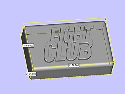 Fight Club Word Rectangular Handmade Soap Molds Fondant Cake Decoration