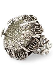 Sweet Romance Crystal Flower Ring