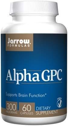 Jarrow Formulas, Alpha GPC 300, 300 mg, 60 Veggie Caps, 2 Pack
