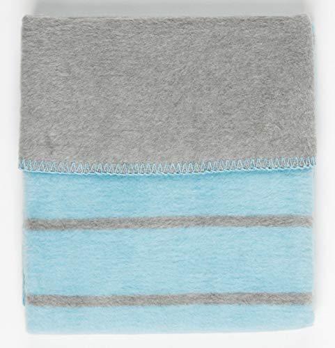 100/% Baumwolle Babydecke mit Namen Bestickt Geburt Geschenk Taufe