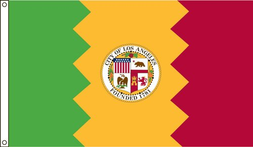 Los Angeles 2ft. X 3ft. Nylon Flag