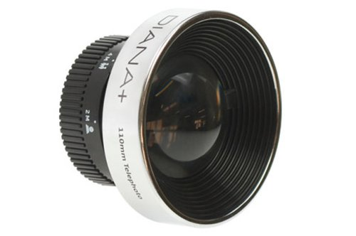 Lomography Diana F+ 110mm Telephoto Lens