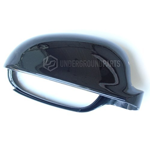 Underground Parts Door Wing Mirror Cover Metallic Right Offside Drivers Side, Black