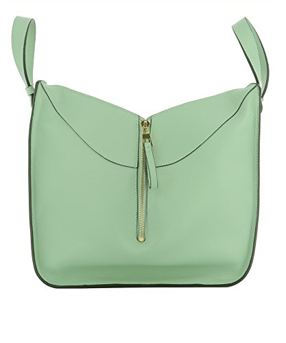 loewe-womens-38730n604180-green-leather-tote