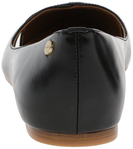 Calvin Leather Flat Box Black Women's Gailia Ballet Klein FqF0w4