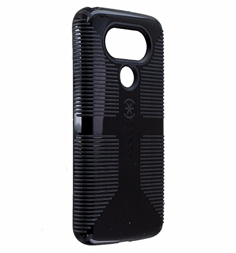 - Speck CandyShell Grip Series Slim Hardshell Case Cover for LG G5 - Black/Gray