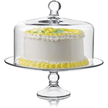 Libbey Selene Cake Dome 2-Piece Set Clear  sc 1 st  Amazon.com & Amazon.com | Libbey Selene Cake Dome 2-Piece Set Clear: Cake Plates ...