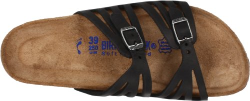 Birkenstock Women's Granada Soft Footbed Sandal,Black Oiled Leather,39 N EU by Birkenstock (Image #7)