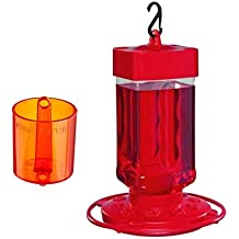 First Nature 3055, 32 Ounce Hummingbird Nectar Feeder with a First Nature 3306 Ant Barrier.