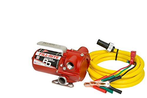 Fill-Rite RD1212NN 12 GPM 12V Portable Fuel Transfer Pump with Power Cord