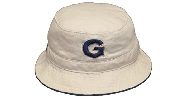 Georgetown University Bulldogs Bucket Hat Embroidered Fishing Hat - Sm Med    Sports Fan Baseball Caps   Sports   Outdoors 052e7356b4e0