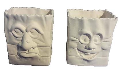 Amazon.com: scioto truco o trato bolsas Conjunto de 2: Arte ...